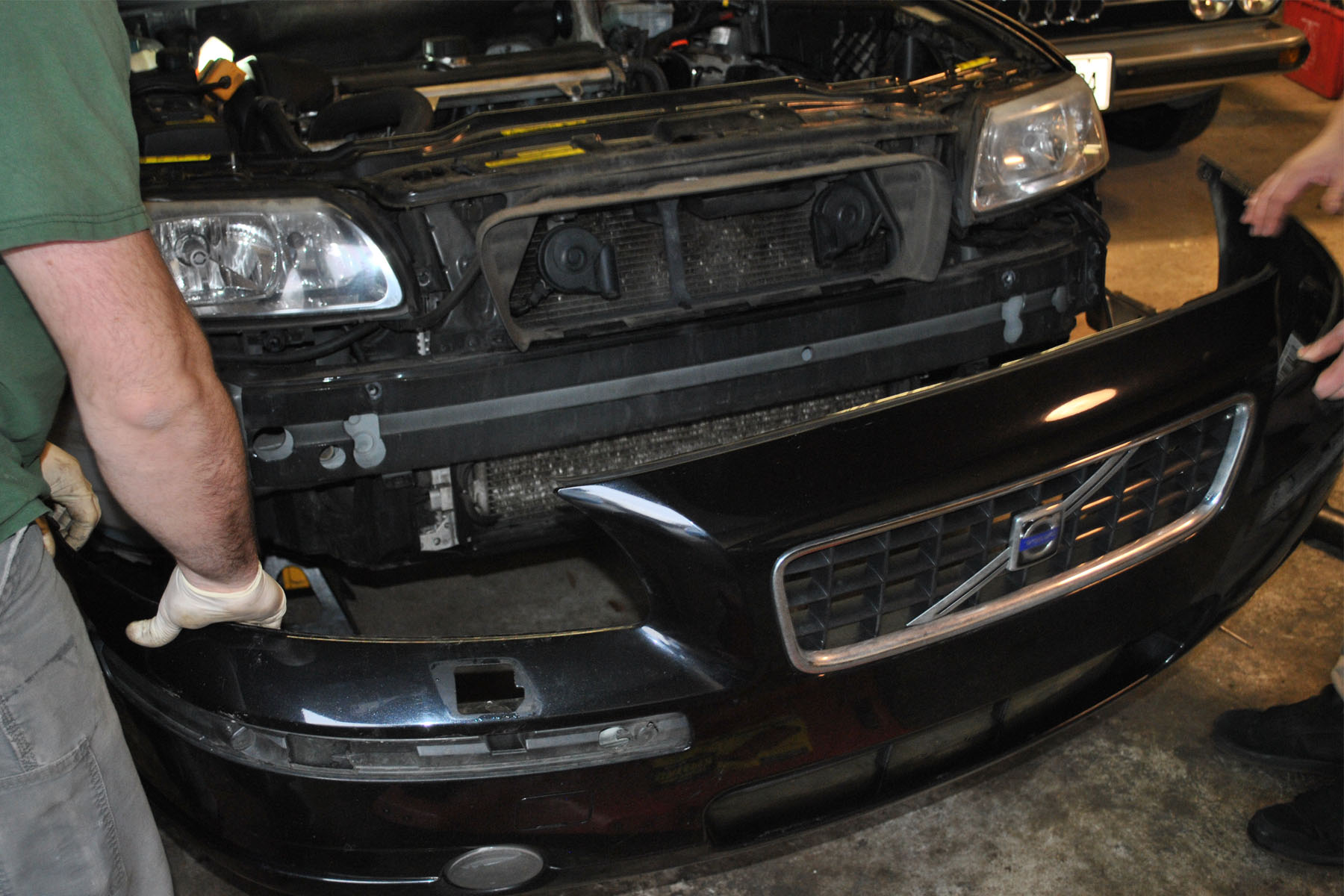 Snabb Big Fmic Install Bmac Bumper on Volvo S60 Bumper Parts